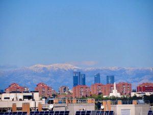 Sierra de Madrid desde Ensanche de Vallecas