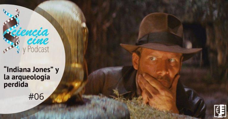 """Carátula """"Indiana Jones"""" y la arqueología perdida"""