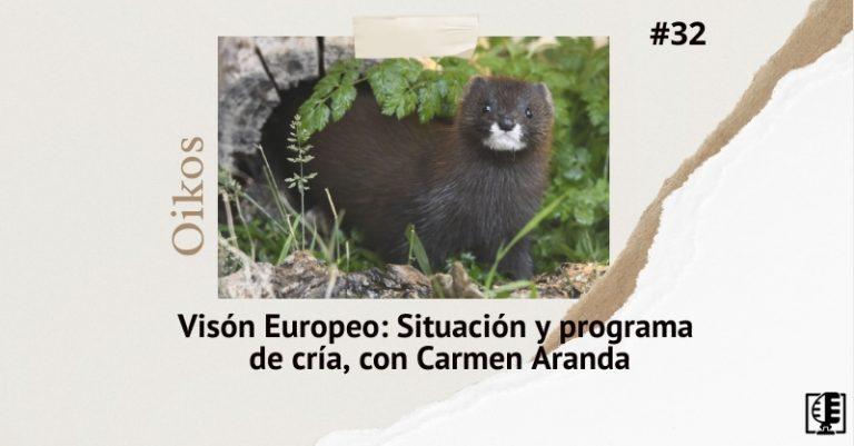 Carátula del programa de cría del vison europeo con Carmen Aranda de la Fundación FIEB
