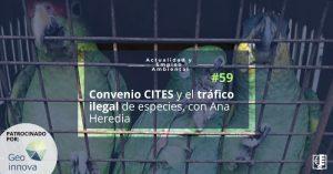 Carátula AEA 59 Convenio Cites y tráfico ilegal de especies