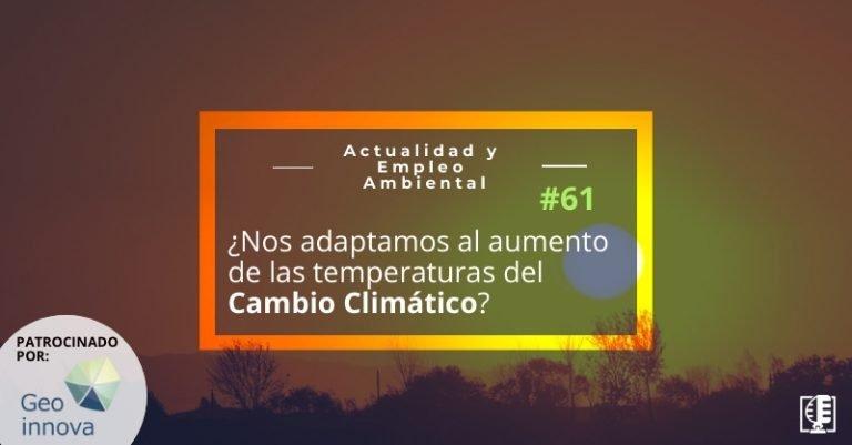 Carátula AEA 61 - adaptación humana a la subidas de temperaturas