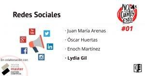 Carátula Redes Sociales RRSS con Lydia Gil - No Cuentes Esto