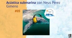 Acústica submarina con Neus Pérez Gimeno | Planeta Agua #05